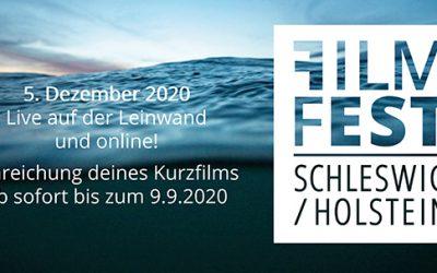Filmfest Schleswig-Holstein als Online-Event und mit Kurzfilmwettbewerb