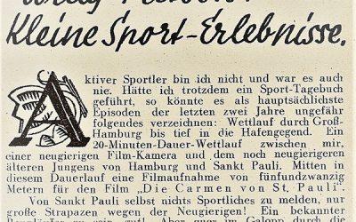 """Skandal um """"Die Carmen von St. Pauli"""""""