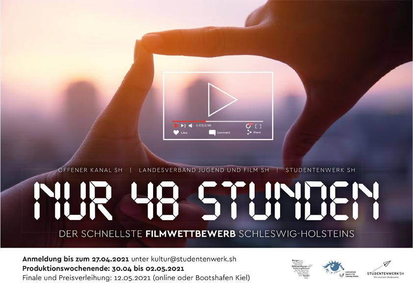 """Kurzfilmwettbewerb """"Nur 48 Stunden"""""""