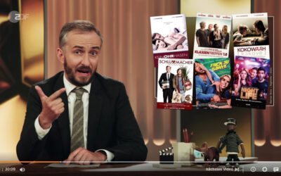 Jan Böhmermann rechnet mit der deutschen Filmförderung ab