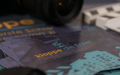 Barcamp Film: Klappe die Erste!