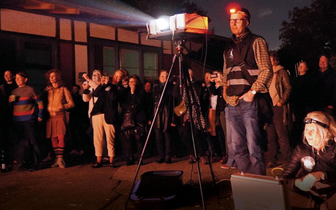 Kollektiv UrbanProjection veranstaltet neue Multimedia Walks